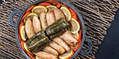 קייטרינג בשרי בירושלים   עלי גפן/בצל/כרוב ממולאים   חנות לאוכל מוכן   האחוזה קייטרינג