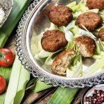 קייטרינג בשרי בירושלים | קציצות כרישה (פרסה) | חנות לאוכל מוכן | האחוזה קייטרינג