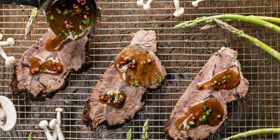 קייטרינג בשרי בירושלים   צלי בקר ברוטב   חנות לאוכל מוכן   האחוזה קייטרינג