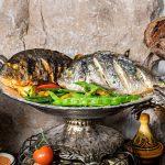 קייטרינג בשרי בירושלים | דג דניס בעשבי תיבול | חנות לאוכל מוכן | האחוזה קייטרינג